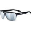 UVEX LGL 36 Lifestyle Glasses black clear/mirror silver